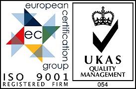 BS EN ISO9001 accredited