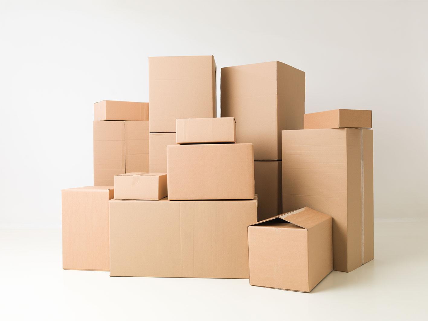 Various Box Sizes at Graham's Cartons